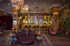 Stiff, expertly mixed cocktails in a pseudo-Victorian setting - perhaps not the most original theme, but executed with panache. Read our full review: http://www.timeout.com/london/bars-pubs/mr-foggs
