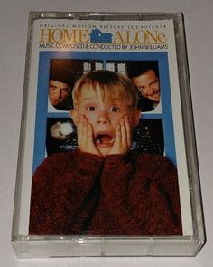 Home Alone Original Soundtrack Cassette Tape Like New #Soundtrack