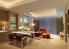 ~2013 Classic Living Room Ceiling Design