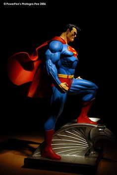 Superman DC Direct Statue designed by Jim Lee and sculpted by Tim Bruckner
