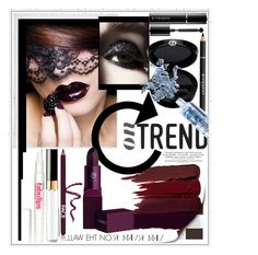"""""""On trend: Lip Colour"""" by captainsilly ❤ liked on Polyvore featuring beauty, Polaroid, Serge Lutens, Rika, Lipstick Queen, FACE Stockholm, Bliss, Chanel, Givenchy and Giorgio Armani"""