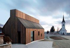Chimney House by Dekleva Gregorič Architects, Slovenia