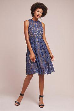 Donna Morgan High-Neck Lace Dress, #ad