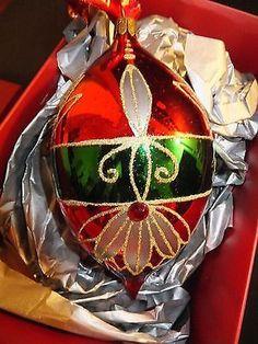 Waterford Holiday Heirlooms Crimson Spire Christmas Ornament New Diy Christmas Ornaments Eggs Xmas