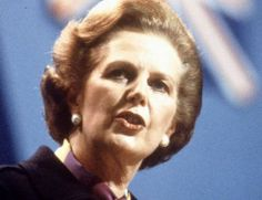 """""""The Lady's Not For Turning . """" : Margaret Thatcher's best quotes"""