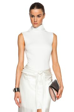 Image 1 of camilla and marc Flash Bodysuit in Winter White