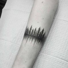 forest tattoo by thomasetattoos
