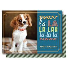 Happy Howlidays - Dog Holiday Photo Card