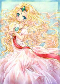 Rayearth OVA | Magic Knight Rayearth - Princess Emeraude - draw_your_dream - Fotolog