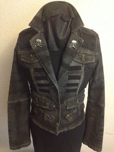 The Reaper Jacket from Chad Cherry by ChadCherryClothing on Etsy