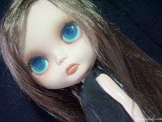 One of the Customized OOAK Blythe doll Jeanne by Dakawaiidolls, $250.00