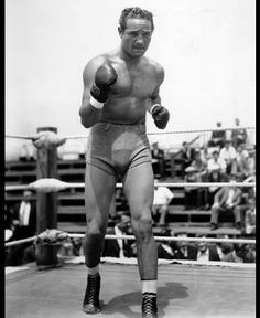 Max Baer Heavyweight Boxing Champion Training, 1933