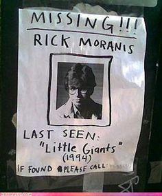 Rick Moranis Missing
