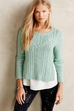 Подборка интересных пуловеров