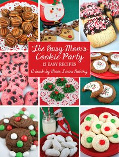 For a limited time, receive this ebook for FREE when you subscribe to Mom Loves Baking. The Busy Mom's Cookie Party - 12 Easy Recipes.
