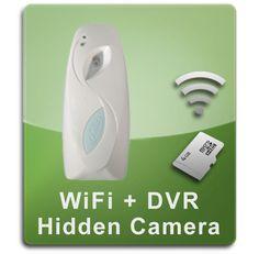 WiFi Series Book Hidden Spy Camera - BigSecurity
