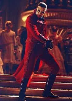 Gerard as the Phantom Red Death