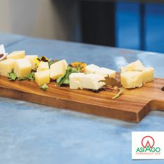 Special board with 4 ages of Asiago PDO Cheese.