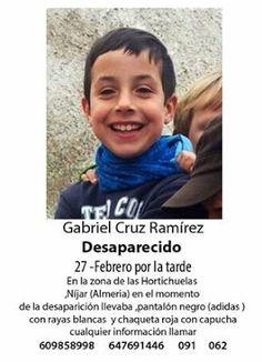 Crimen Scientia: Gabriel Cruz ,El Niño Desaparecido en Níjar,Sus Se...