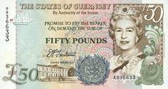 Guernsey: Guernsey pound bank note