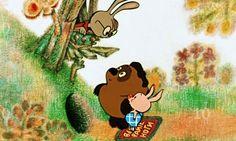 Самые лучшие советские мультфильмы (ТОП 10 советских мультиков) ********************************  Тройку лидеров открывает Винни Пух У него третье место. Очаровательный медвежонок Винни Пух сразу покорил детские сердца.   The best Soviet animated films (TOP of 10 Soviet animated cartoons) ********************************  Opens the three of leaders Winnie-the-Pooh It has the third place.