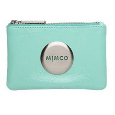 i want this :) gorgeous pastel mint mimco pouch Mimco Pouch, Mimco Bag, Purse Wallet, Coin Purse, Melbourne Fashion, Teal Green, Tiffany Blue, Cosmetic Bag, Me Too Shoes