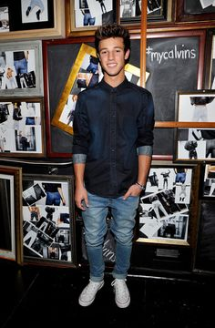 Cameron Dallas attends the Calvin Klein Jeans hosted music event
