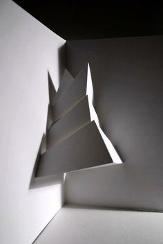 Formas en Papel  papel  arte  esculturas