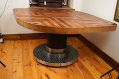 1000 images about dining room ideas on pinterest stoke for Unusual shaped dining tables