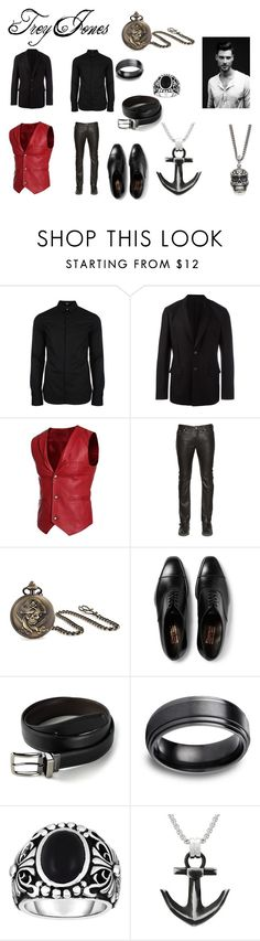 """Cupid's Host: Trey Jones"" by beccariceb ❤ liked on Polyvore featuring Versus, Givenchy, Diesel, Bling Jewelry, Dockers, Phillip Gavriel, Lynx, King Baby Studio, men's fashion and menswear"