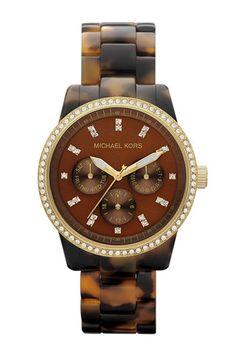 'Ritz' Crystal Index Bracelet Watch