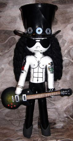 Slash - Handmade doll by DollArmsBigVeins