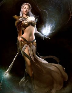 Witch and Sorceress - Fantasy Art and Illustrations - 24-Trading Cards - NEW!
