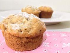 Muffin de Maçã sem glúten e sem lactose que eu tanto queria! Estava um friozinho gostoso e fui pro fogão. Sem Glúten Sem Lactose.
