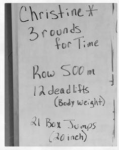 Workout WOD #crossfit