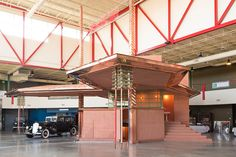 Rare Frank Lloyd Wright Gas Station Brought to Life