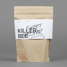 Coffee packaging for Single Origin Roasters designed by Maud.