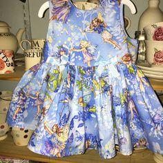 Flower fairies dress Michael Miller fabric Gorgeous