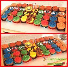 #mexican #birthday #cupcakes #magicupcake madebyme #mexico #corseaux #vevey #lausanne #montreuxriviera #vaud #switzerland #swiss #color #sombrero #charro #guitar Mexican Birthday, Vevey, Lausanne, Birthday Cupcakes, Ants, Switzerland, Mexico, Guitar, Cookies