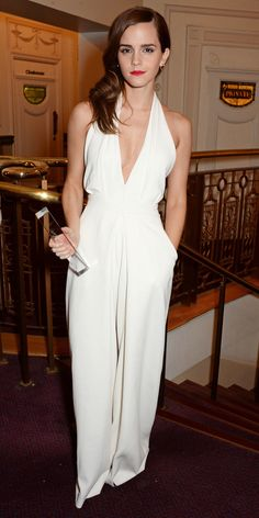 Emma Watson's Red Carpet Style - In Misha Nonoo, 2014 - from InStyle.com