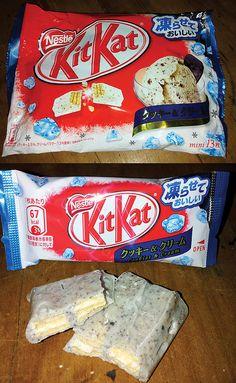Cookies & Cream - Kit Kat from Japan
