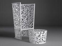 Camuflaje por Fredrikson Stallard   armachair de aluminio