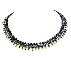 Pattern for necklace Black River