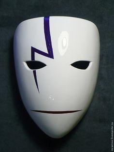 Маска Hei (dunkler als schwarz), ручная работа - куÐ . Punisher Costume, Anbu Mask, Shadow Wolf, Japanese Mask, Origami Paper Art, Figure Sketching, Skull Mask, Anime Nerd, Cool Masks