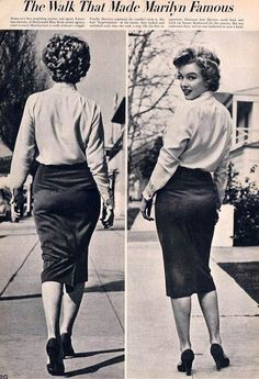 """""""The Walk That Made Marilyn Famous"""""""