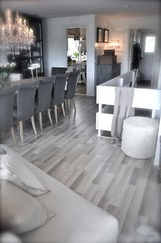 Gray kitchen flooring ideas what grey flooring ideas kitchen with light cabinets color furniture goes light grey kitchen flooring ideas Living Room Flooring, Kitchen Flooring, Living Room Decor, Dining Room, Grey Laminate Flooring, Grey Wood Floors, Modern Flooring, Tile Flooring, Küchen Design