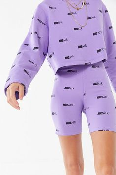 43 ideas for baby girl shoes nike signs Purple Outfits, Sporty Outfits, Teen Fashion Outfits, Nike Outfits, Swag Outfits, School Outfits, Outfits For Teens, Stylish Outfits, Summer Outfits