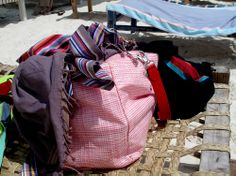 Tessuti kikoi per beach-bag by Rinaldo Rampon