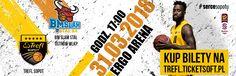 Kolejny mecz Trefla Sopot 31.03 w Ergo Arenie !! Tym razem rywalem będzie BM Slam Stal z Ostrowa