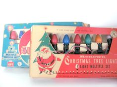 Vintage Christmas 1960's Indoor Christmas by ThirstyOwlVintage, $38.50